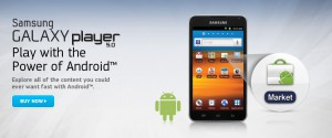Samsung Galaxy Player – 5,8 Zoll-Display und Android 4.0