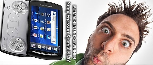 Sony Ericsson Xperia PLAY Gewinnspiel
