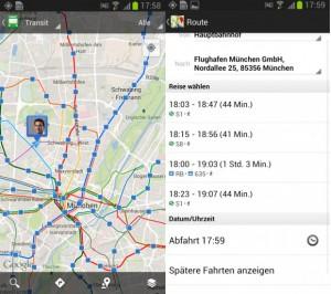 Google kooperiert mit Deutscher Bahn