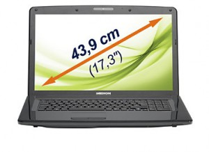 Notebook Medion Akoya E7222