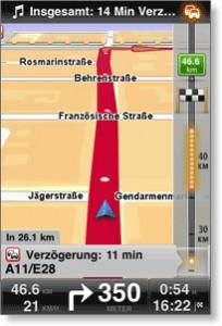 Android TomTom Navigation App erhältlich