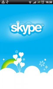 Eine neue Tablet Oberfläche für das Android Skype 3.0