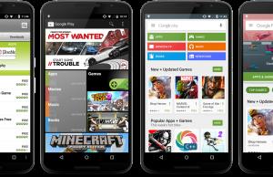 Google Play Store Neues Design