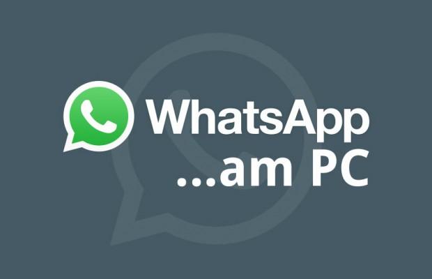WhatsApp am PC benutzen